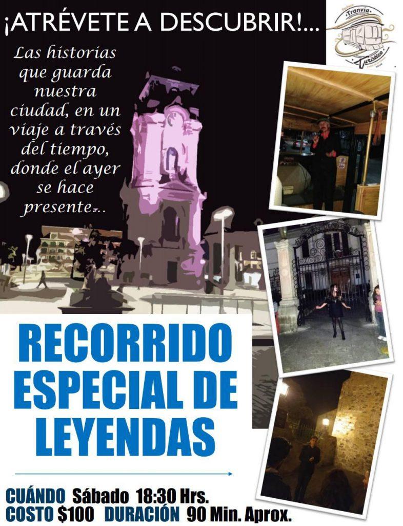 Recorrido especial de leyendas en Pachuca Hidalgo