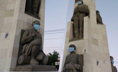 Monumento Revolución en Pachuca de Soto