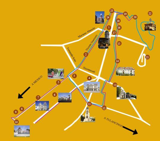 Ruta 1 - Tranvía Turístico Pachuca