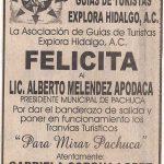 Asociación de Guías de Turistas Explora Hidalgo A.C.
